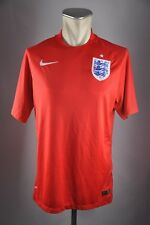 England Trikot three Lions 2014  Gr  L Nike Jersey WM EM away Shirt rot