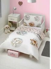 Disney Classic Animals Bambi Thumper Nala Marie Toddler Cotbed BEDDING Pink
