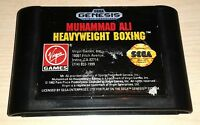 Muhammad Ali Heavyweight Boxing Sega Genesis Vintage original GAME CARTRIDGE