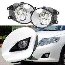 2x 55W 9-LED-Runde rechts/links Nebelscheinwerfer für Toyota Camry Corolla Yaris