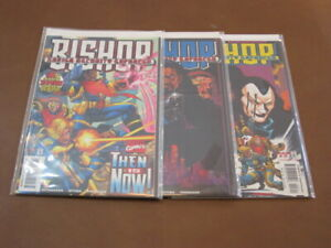 BISHOP XAVIER SECURITY ENFORCER #1 - 3 COMPLETE SET X-MEN SHARD HELLFIRE CLUB