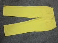 RALPH LAUREN Lauren Jeans Co Size 12 Womens Banana Yellow
