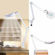 8x Magnifying Lamp Daylight Magnifier Lens Desk Table Task Craft Work Bench AU