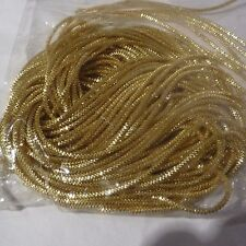 Gold Bullion stretch Wire floristry craft Expanding Coil .30mm floral craft
