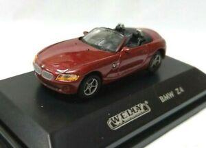 Welly 1/87 HO scale sport Euro open car roadster Die cast model - BMW Z4 Red