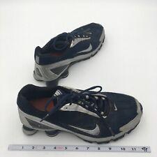 Nike Shox Turbo Running Shoes Lace Up Mesh Blue  Mens 9.5