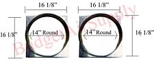 """Goodman 16""""Square to 14"""" Round Adapter Fits""""M""""Series Package Units-SQRPCH101"""