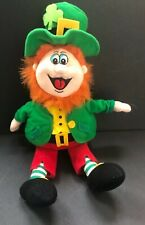 Lucky Plush Leprechaun Hangable Orange Hair St Patricks Day Kiddie Fun Red Pants