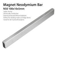 Strong N50 Long Cuboid Block Bar Super Strong Rare Earth Neodymium Magnet Tool
