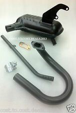 Lambretta Exhaust with Bend & Down Pipe Assly / Silencer Assly Li 125/150 TV175