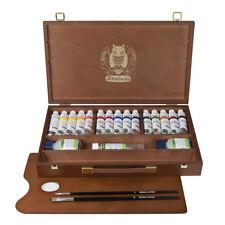 Schmincke Acrylfarbe PRIMAcryl® Acrylic Holzkasten 15 x 35 ml Tuben + Zubehör