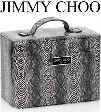 100% Autentico xmasedition JIMMY CHOO Pelle di Serpente Trucco Bellezza ~ ~ Custodia da viaggio di archiviazione