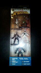 2017 Jada Toys/Marvel- Spiderman Nano Metal Figs Pack B