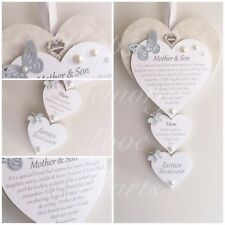 Mother of the Groom gift wooden keepsake