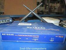Netgear WAG102 ProSafe 802.11a/g Dual Band Wireless Access Point INCL ANTENNAS