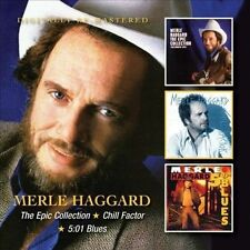 The Epic Collection/Chill Factor/5:01 Blues by Merle Haggard (CD, Aug-2013, 2 Discs, Beat Goes On)