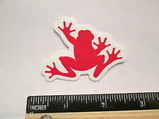 "2.25"" SRAM FROG Red Road Tri Race Bike Ride Frame Bicycle DECAL STICKER rbz"