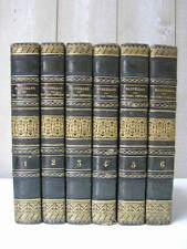 Oeuvres choisies de MASSILLON 6 tomes 1825 Reliure 1/2 veau glacé