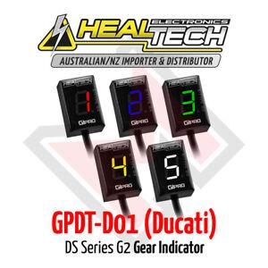 Healtech GiPRO DS Series G2 Gear Indicator GPDT-D01 Ducati FREE EXPRESS SHIPPING
