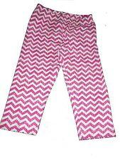 NUOVO Topolino fantastiche Capri Legging MIS. 116 Rosa-Bianco!!!