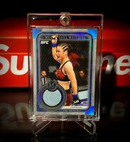 2019 Topps UFC Museum Collection Weili Zhang True Rookie Card RC /75
