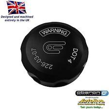 Oberon Performance Black Ducati Clutch Reservoir Cap RES-0003-BLACK