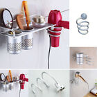 Spiral Blow Hair Dryer Stand Flat Holder Wall Mounted Hang Holder Organizer NEW