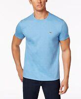 Authentique LACOSTE homme TH6709 rose 100/% PIMA Crewneck Ss Tee T-shirt chemises