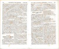 65 Gazost Cauterets Monné 1862 guide orig. (20 p.) Baños de Panticosa Vignemale