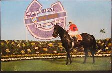 General Duke Winner 1957 Florida Derby  Early Chrome Unposted