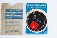 1930s KODAK INDOOR EXPOSURE GUIDE dial calculator in Original Sleeve