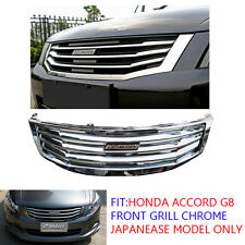Honda Accord G8 Front Grill Grille Mugen Chrome 08 09 10 11 12 Japan Model Sedan