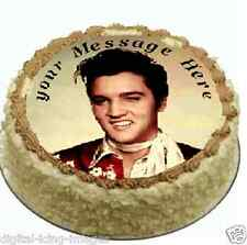 Elvis Cake topper edible digital image icing  REAL FONDANT