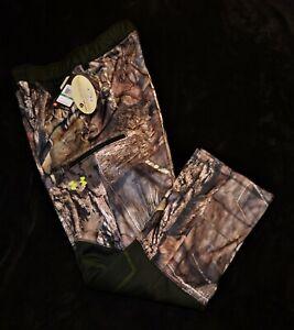 Under Armour coldgear mossy oak scent control loose hunting pants Men's L $99.99