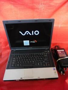 Sony Vaio VGN-BX567B 100GB HD w Power Adapter