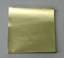 Dull Gold Candy Foil Wrappers Confectionery Foil 125 count FD15