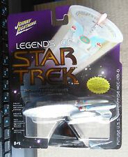 Johnny Lightning Legends of Star Trek FUTURE U.S.S Enterprise NCC-1701-D SERIES3