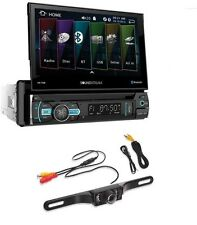 "Soundstream 2 Din VR-75B 6.5"" LCD Display Bluetooth+Cache License Plate Camera"