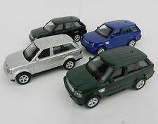 1:64 RMZ *SET OF 4* Land Rover RANGE ROVER SUV *DIECAST* NEW!