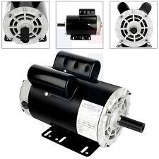 Single Phase Electric Motor 56 Frame 3450 Rpm Heavy Duty Air Compressor 230 V