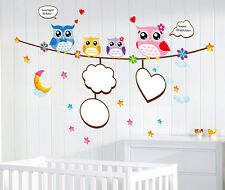 DOLCE SOGNO GUFI Wall Sticker Decalcomania Arte Grafica di Trasferimento Stencil Home Kids Room
