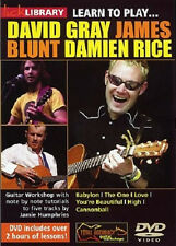LEARN TO PLAY DAVID GRAY, JAMES BLUNT AND DAMIEN RICE