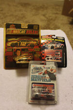 Free Shipping! 3 pkgs Racing Champions, Action Jeremy Mayfield 1:64 Diecast Cars