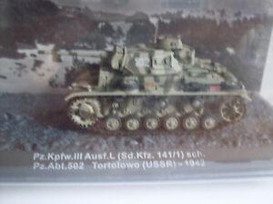 Réservoir Kpfw III MODÈLE L. (Sd.kfz. 141/1) Urss 1942, Militaire Magazine 1 :