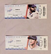 2013 Los Angeles Dodgers Ticket Stub Pick One - unused Season Ticket