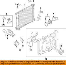 NISSAN OEM 12-17 Versa-Fan Module 214819KK0A
