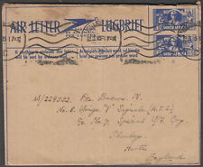 SOUTH AFRICA VERY SCARCE PRINTED AIR MAIL TO UK