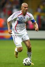 Zinedine Zidane A4 Photo 7