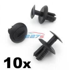 10 x 8mm PASSARUOTA rivestimento & Paraurti posteriore clip compatibile con