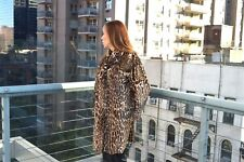 3c8d52a12 $9,900 Gucci FUR Runway Leopard Pony Hair Animal coat size 44 NEW WITH TAGS